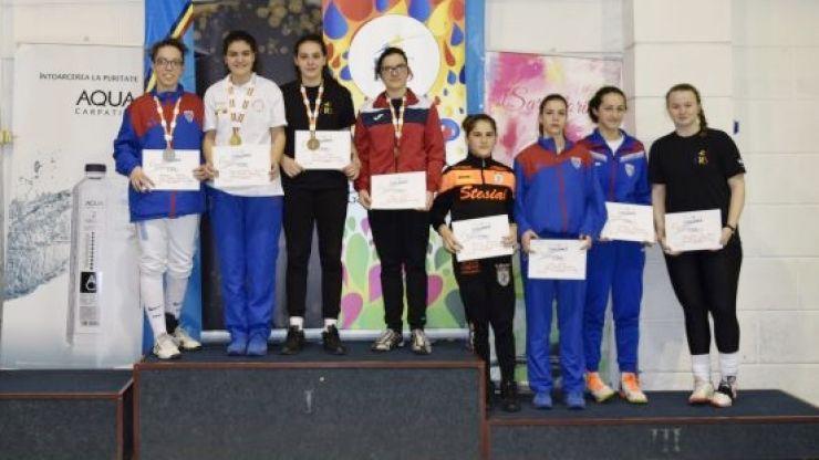 Zsofia Kato a câștigat medalia de bronz la Campionatul Naţional de cadeţi