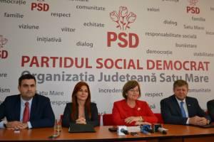 Candidații PSD Satu Mare la Senat și Camera Deputaților și-au prezentat proiectele