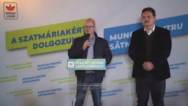 Rezultate parțiale | Kereskenyi Gabor a câștigat un nou mandat la Primăria Municipiului Satu Mare