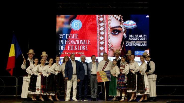 """Ansamblul Folcloric """"Doruri Sătmărene"""" a reprezentat România la Festivalul Internațional de Folclor"""
