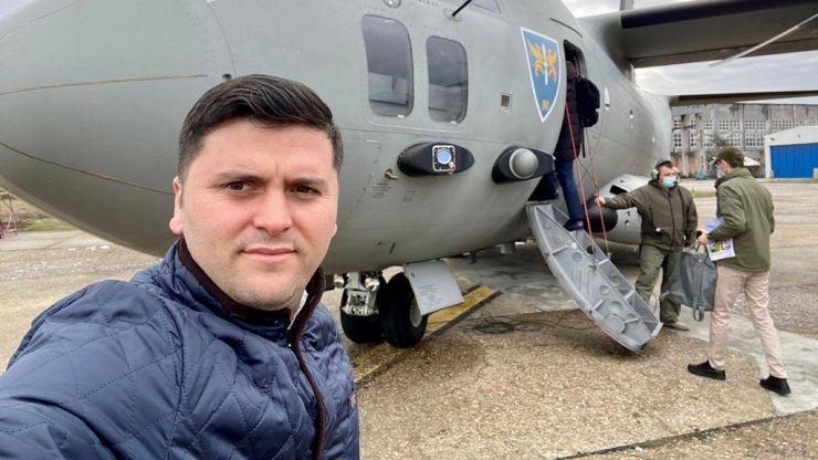 """Deputatul PNL Adrian Cozma, în vizită la Academia Forțelor Terestre """"Nicolae Bălcescu"""" din Sibiu"""