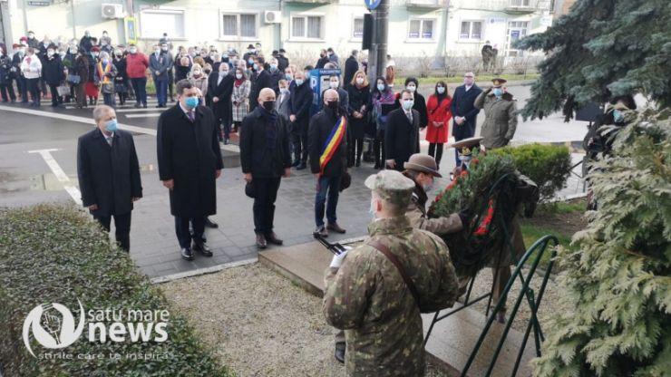 Ziua Unirii Principatelor Române, marcată la Satu Mare în cadru restrâns