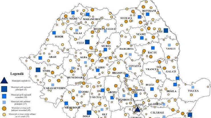 Guvernul vrea să reclasifice localitățile. Vezi în ce categorie va fi Satu Mare