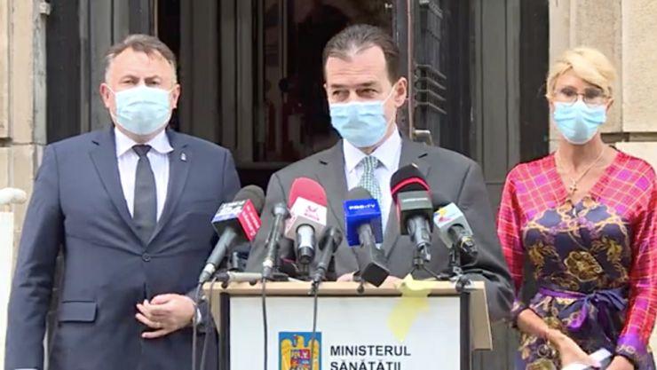 Ludovic Orban, după întâlnirea cu directorii DSP: Am stabilit măsuri imediate