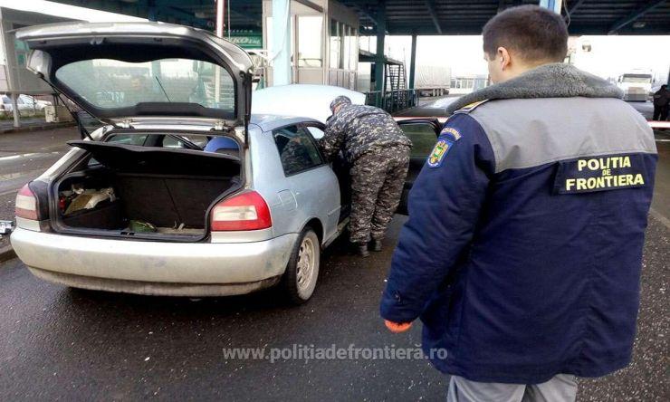 Țigări în valoare de 5.700 lei, confiscate la frontiera de nord
