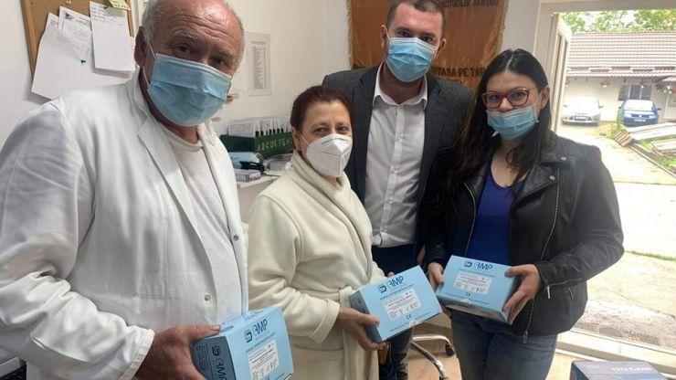 Rotaract Satu Mare a donat 200 de teste rapide COVID-19 Spitalului de Pneumoftiziologie