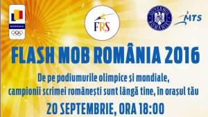 FlashMob România 2016 - marți, 20 septembrie