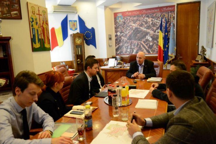 Primarul Dorel Coica s-a întâlnit cu reprezentanții Kaufland România