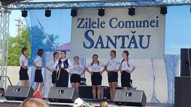 Localitatea Santău, în sărbătoare