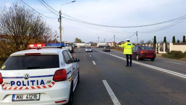 Razie a polițiștilor în Moftinu Mic