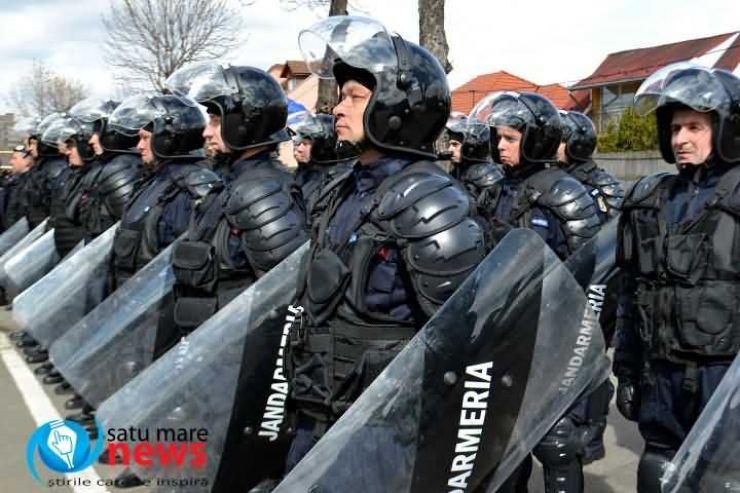 Activități organizate în Piața 25 Octombrie, de Ziua Jandarmeriei Române