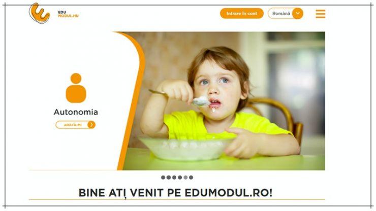 A fost lansată platforma Edumodulpentru sprijinirea copiilor cu dezvoltare atipică