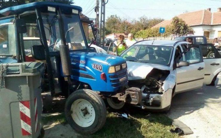 Copil rănit într-un accident rutier. Vinovatul, șoferul unui tractor, nu avea permis de conducere