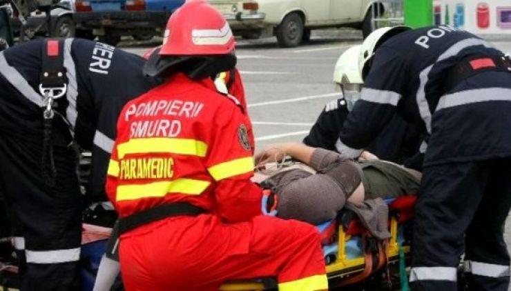 Accident lângă Botiz. Un tânăr a ajuns la spital