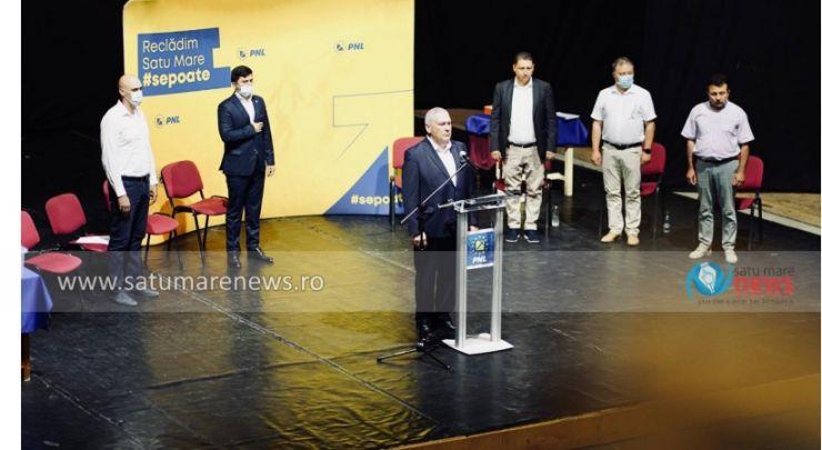Liberalii își aleg președintele Organizației Municipale Satu Mare