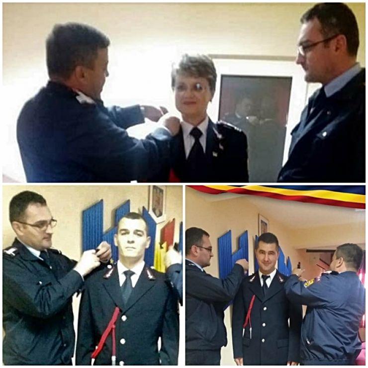 """Avansări în grad la ISU """"Someș"""" Satu Mare"""