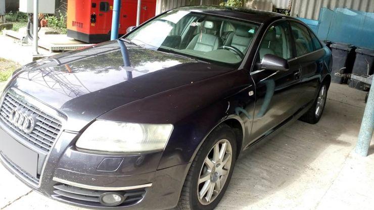 Audi A6 furat în Spania, descoperit la Vama Urziceni