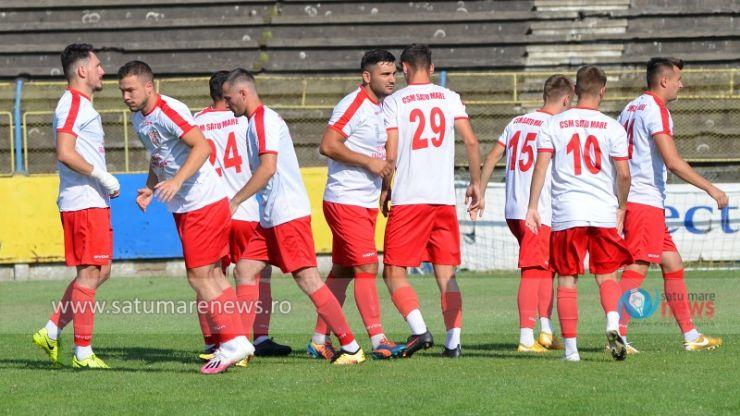 Liga 3 | CSM Satu Mare - SCM Zalău, sâmbătă, de la ora 17:00