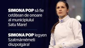 Kereskényi Gábor: Simona Pop merită să devină cetățean de onoare al Municipiului Satu Mare