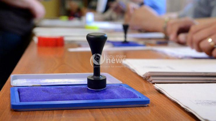 Alegeri locale 2020 I Secțiile s-au închis. Prezență de 45,02% în județul Satu Mare