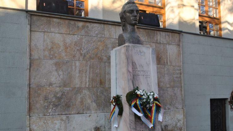 170 de ani de la nașterea lui Mihai Eminescu. Poetul național, comemorat la Satu Mare