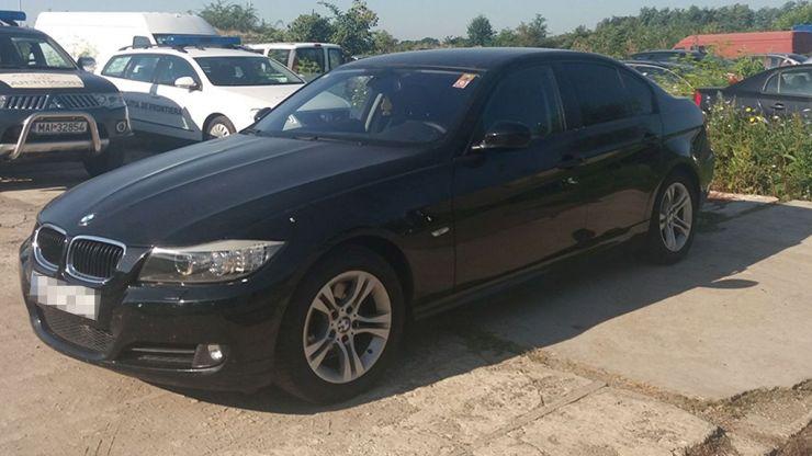 BMW furat din Spania, oprit la Petea