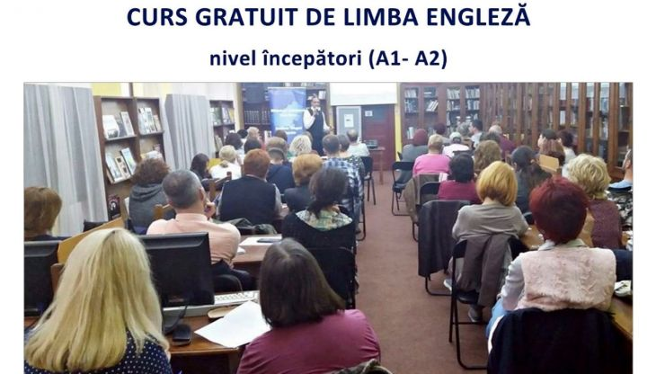 Cursuri gratuite de limba engleză, la Biblioteca Județeană Satu Mare