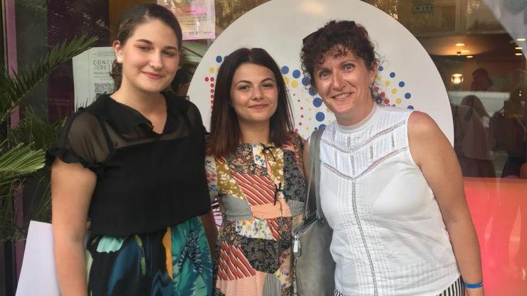 """Două eleve ale CN """"Mihai Eminescu"""" au reprezentat România la Olimpiada Internațională de Lectură"""