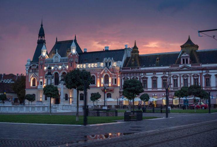 Primăria Oradea va demara o campanie de strângere de fonduri pentru refacerea Palatului Episcopiei Greco-Catolice
