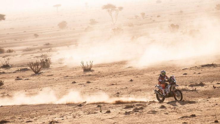 Dakar 2020 | Mani Gyenes și-a consolidat avansul la Malle Moto - Original și a urcat două locuri la general