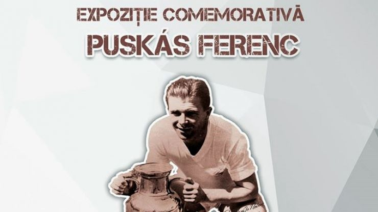 Expoziție în cinstea fotbalistului Puskás Ferenc, la Muzeul de Artă