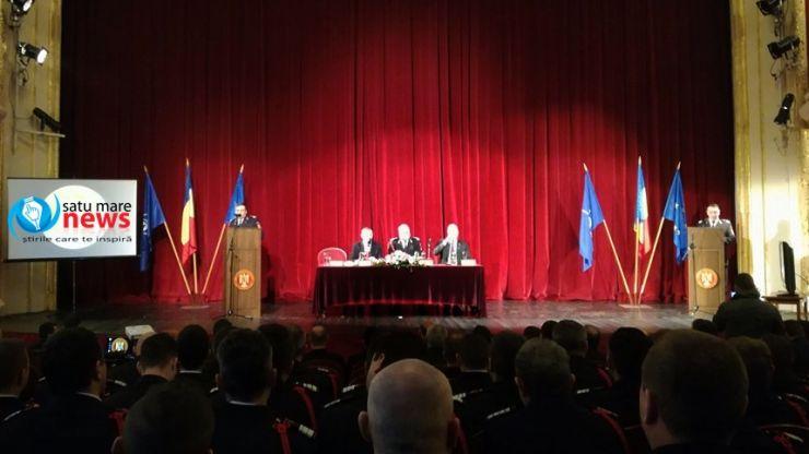 Pompierii sătmăreni, felicitați pentru intervenția cu succes de la Moftin
