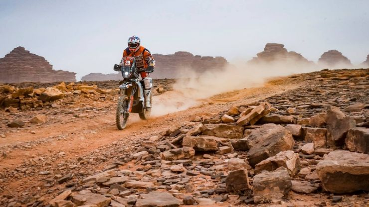 Dakar 2021 | Ziua 10 | Mani Gyenes, cea mai bună clasare din acest an