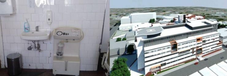 Condiții mizerabile la Spitalul Vechi din municipiul Satu Mare