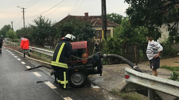 Inundații în județul Satu Mare