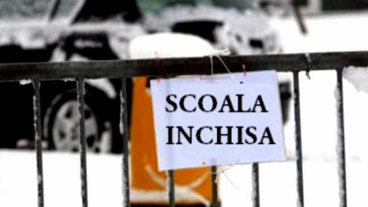 Școli și grădinițe închise mâine în comuna Homoroade
