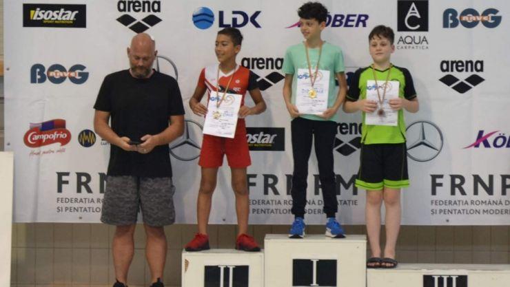 Înot | Sătmăreanul Tudor Pop, campion național la 50m liber