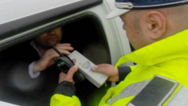 Razie a poliției rutiere. Trei șoferi prinși băuți la volan