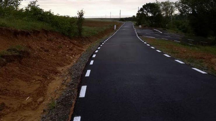 Drumul spre Oțeloaia, modernizat