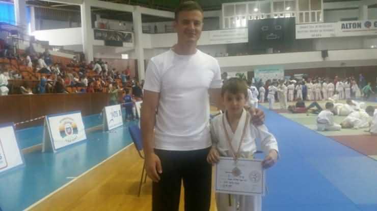 JUDO. Medalie de bronz pentru CSM Satu Mare la Campionatul Național de judo pentru copii