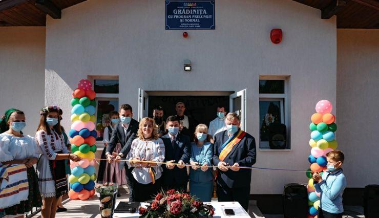 Grădiniță nouă la Beltiug finanțată printr-un program de dezvoltare rurală