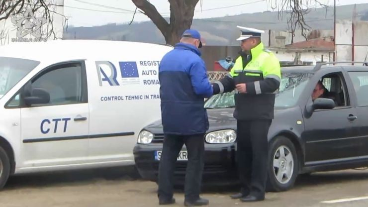 Razii de amploare ale polițiștilor rutieri în Ciuperceni