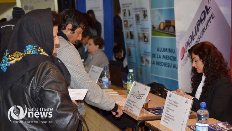 Bursa locurilor de muncă, în plină desfășurare la Satu Mare
