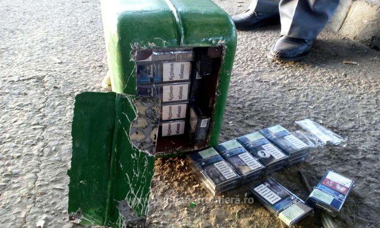 Mașini capitonate cu țigări de contrabandă (video)