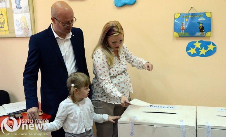 Alegeri locale 2016. Kereskenyi Gabor a votat pentru schimbare
