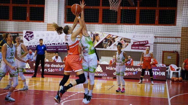 Baschet | CSM Satu Mare, învinsă în semifinală de Sepsi SIC Sfântu Gheorghe