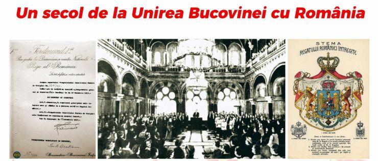 """""""Un secol de la Unirea Bucovinei cu România"""", eveniment dedicat Centenarului, la Biblioteca Județeană Satu Mare"""