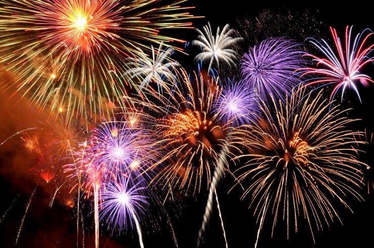 Târgul de Crăciun se încheie cu un show de artificii
