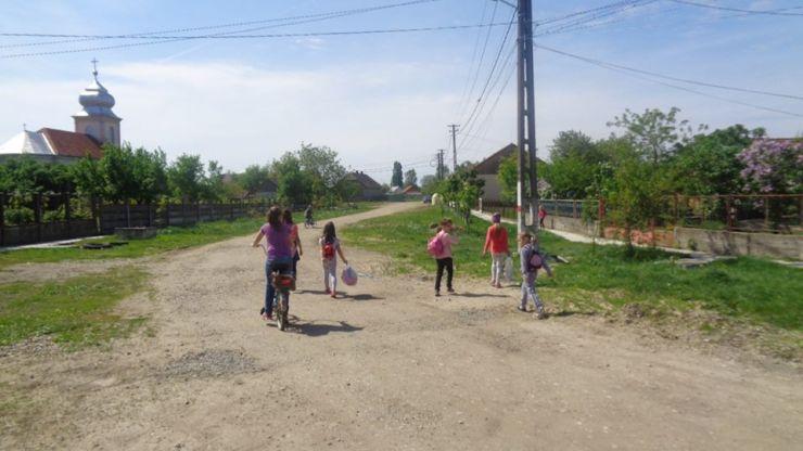 Începe marea asfaltare în Vetiș (foto)