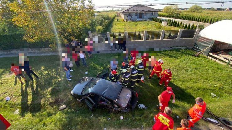 Accident cu trei victime în Mădăras